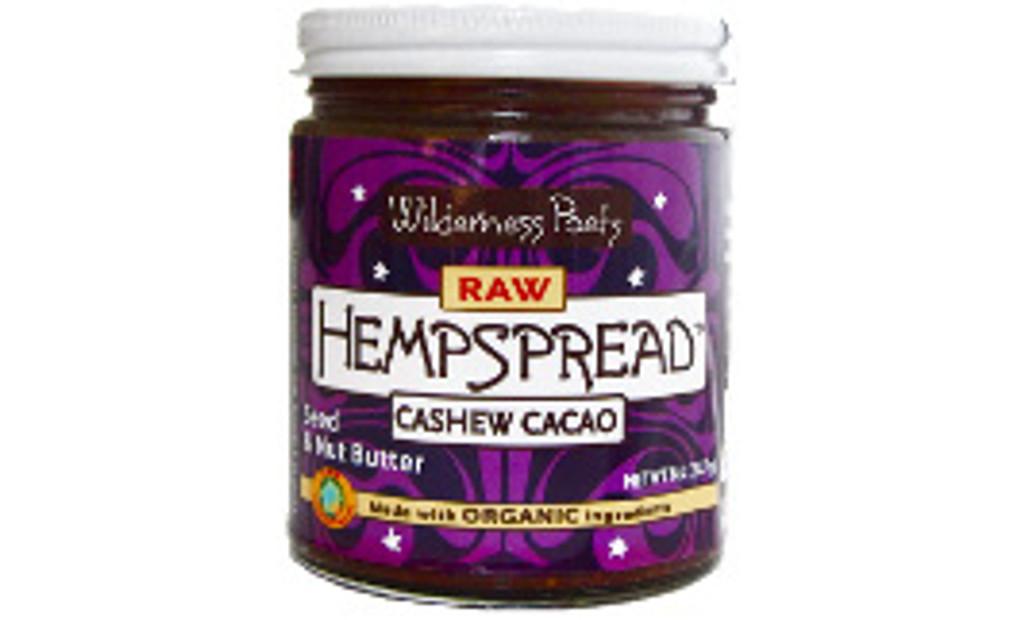 Wilderness Poets Raw Organic Cashew Cacao Hemp Spread