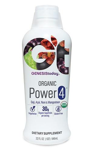 Organic Power4 Pure Superfruit Juice Blend