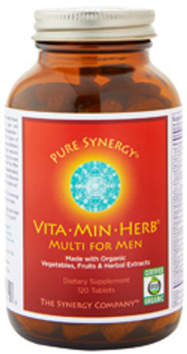 Synergy Company's Organic Multivitamin for Men