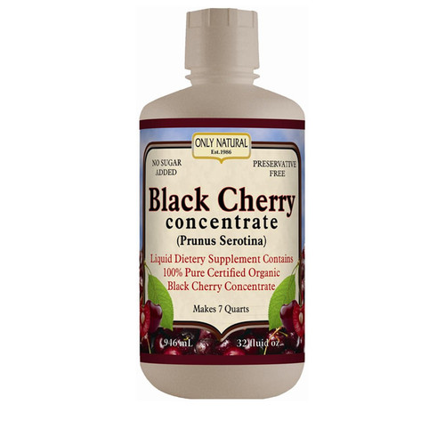 Only Natural Organic Black Cherry Concentrate