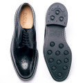 DUFFERIN - Black Polished - H (RUBBER SOLE)