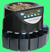 Coins Counters for Australian coins Place all your coins in the hopper, press the button and away you go  Counting speed: max 250 coins per minute Hopper capacity: max 500 coins Coin drawer capacity: 100-300 coins Net Weight: 3.9kgs Gift box size 36*36*31.8cm Power source: AC 220 50HZ Australian coin counters  1. Coin sorter count and sort mixed coins into the different cups. 2. Count and sum the total value of all denomination. 3. Coin sorter count and sum the total quantity of each denomination. 4. Batch function it can be batched with the different denomination at the same time. 5. Classical design, exquisite and functional