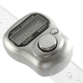 Tally Counter Finger counter Silver ** Free Postage (finger-Silver)