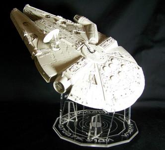 AMT/Ertl kit shown ,clear base