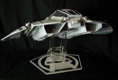 Moebius TOS Cylon Raider stand