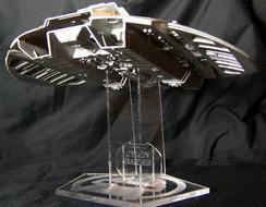 Revell Cylon Raider stand