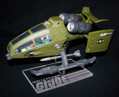 GI Joe Sky Hawk stand