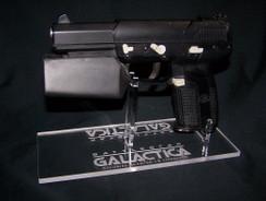 Battlestar Galactica FN FiveSeven Pistol display stand