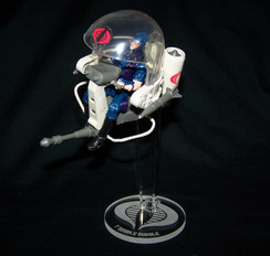 Cobra Trouble Bubble display stand