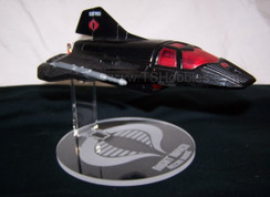 vintage Cobra Raven drone display stand