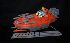 GI Joe Devilfish display stand