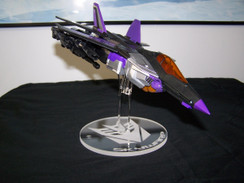 Skywarp Leader Class display stand