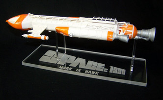1/72 Space 1999 Hawk Mark IX acrylic display stand