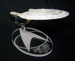 Replacement base for Eaglemoss Enterprise D