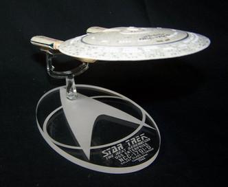 Replacement base for Eaglemoss Enterprise D