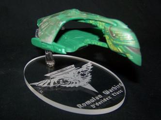 replacement base for the Eaglemoss Romulan Warbird
