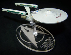 Eaglemoss Star Trek NCC-1701 refit display stand