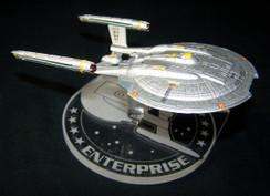 Eaglemoss Star Trek Enterprise NX-01 display stand