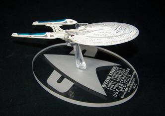 Replacement base for Eaglemoss Enterprise Ncc-1701-E