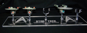 acrylic display stand for EagleMoss Constitution Class starships