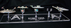 acrylic display base for Eaglemoss Star Trek Enterprise ships