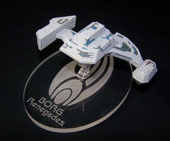 Replacement base for the Eaglemoss Borg Renegades ship