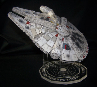 acrylic display stand for Bandai or Fine Molds 1/144 Millennium Falcon