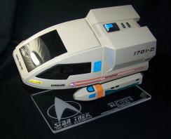 acrylic display stand for Playmates Goddard Shuttlecraft