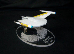 replacement base for the Eaglemoss Romulan Bird of Prey