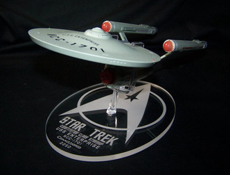 "replacement base for the Eaglemoss 11"" Enterprise"