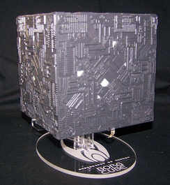 Display stand for Eaglemoss Borg Cube from Star Trek