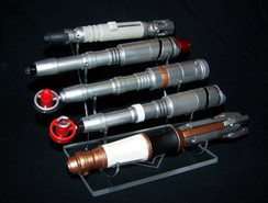 Dr Who 5 tier sonic screwdriver display stand
