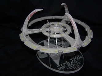 Acrylic display stand for Eaglemoss Deep Space Nine Space Station DS9