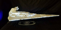acrylic display stand for Zvezda Star Destroyer