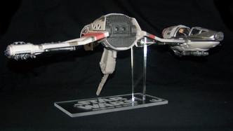 acrylic display stand for Hasbro Star Wars Last Jedi Resistance Ski Speeder