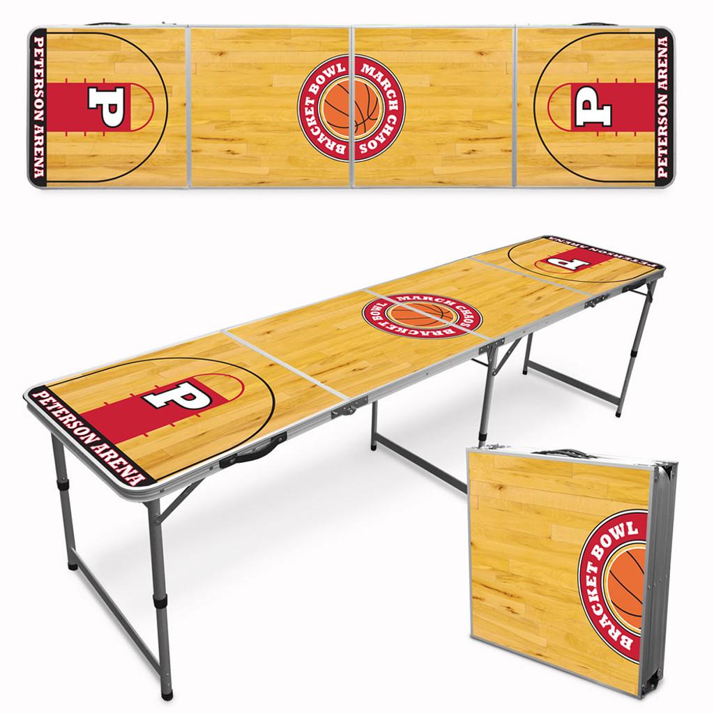 Custom Beer Pong Table - Basketball Court