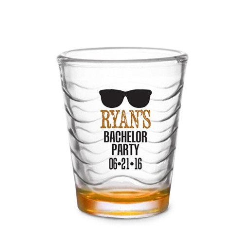 Custom Shot Glass - Sunglasses (Set of 4)