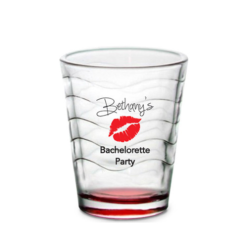 Custom Shot Glass - Lips (Set of 4)