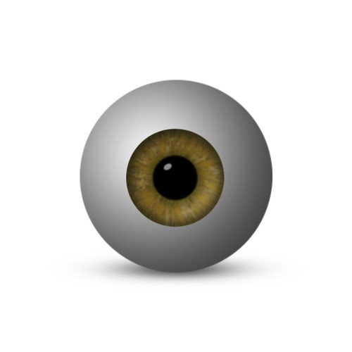Eyeball - Brown (1-Star)
