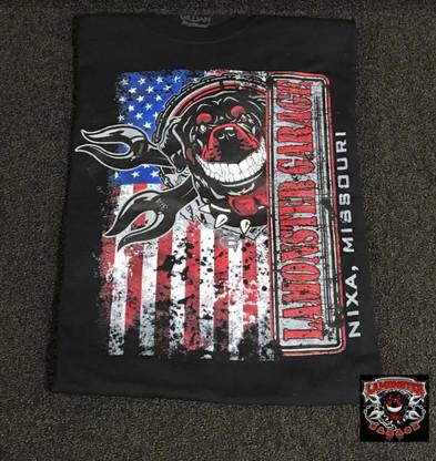 Lamonster Garage Shop Dawg T-Shirt (LG-7002-B) #lamonstergarage #lamonster