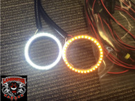 Lamonster F3 LED White and Amber Fog Ring Kit (LG-3002) (Bright Ryder by Lamonster)