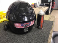 Lamonster American Flag Helmet Decal