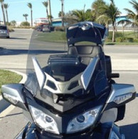 "Can-Am Spyder RT/RT-S Plus3 TALL WIDE ""Tint"" Windshield w/ VENT"