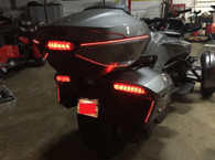 Can-Am Spyder F3T & F3-LIMITED (BRT) BRAKE/RUN/TURN/STROBE REAR LED LIGHT KIT WITH TOP CASE