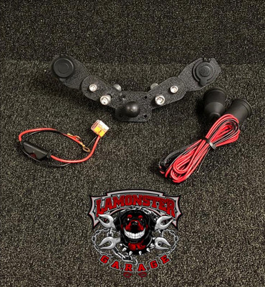 Monster Mount with Dual Power Plates - F3 Models (LG-3007) Showing Bracket only.