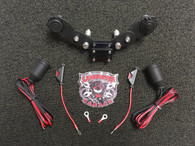 Monster Mount with GPS Swivel and Dual Power Plates - F3 Models