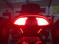 Can Am Spyder F3 & F3S REAR BRT LIGHTING KIT - BRAKE/RUN/TURN, INCLUDES STROBE FEATURE!