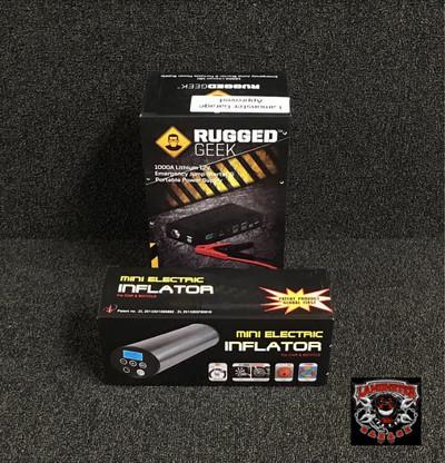 1000A Jump Pack / Air Pack Combo (LGA-4201) Rugged Geek 1000A Jump Pack (RG-1000) Air Pack (LGA-101S)