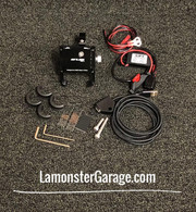 "Phone Holder / USB Combo (LG-4015-3091-3092) by Lamonster FITS ALL F3 Models, F3, F3-S, F3-T, F3-LTD  Also Fits any  Motorcycle Handle Bars that are 7/8"", 1"", 1 1/8"""
