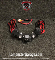 Monster Mount 2.0 with Dual Power Plates (LG-3020) by Lamonster Fits ALL Can-Am Spyder F3 & RT Models Including the Limited.